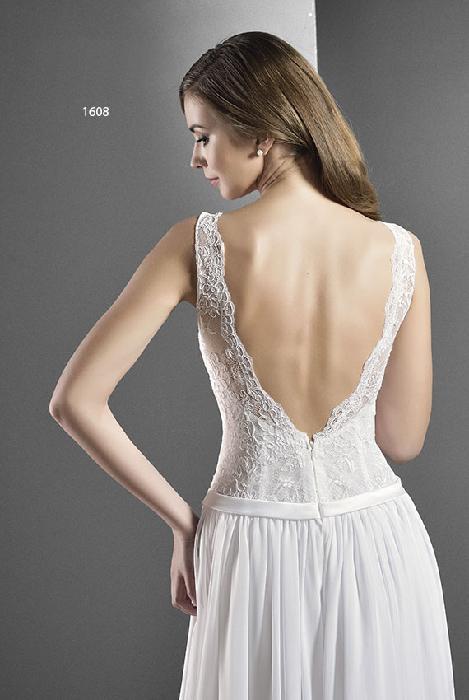 Hope - svatební šaty s ramínky